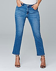 Lily Cropped Bootcut Jeans