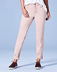 Sadie Dusky Pink Relaxed Jeans Reg
