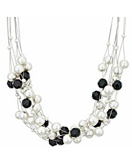 Mood Mono Pearl Twist Necklace