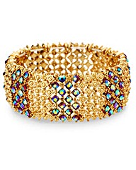 Mood Crystal Encased Stretch Bracelet