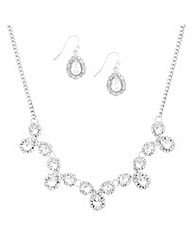 Mood Teardrop Crystal Scallop Set