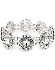 Mood Oval Crystal Surround Bracelet