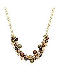 Mood Cluster Bead Necklace