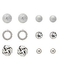 Mood Sandblast And Polish Stud Set