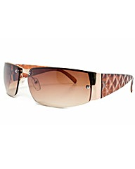 Viva La Diva Jessica Brown Sunglasses