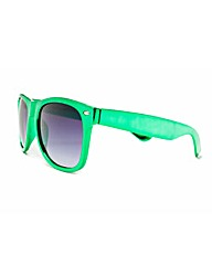 Wayfarer Green Frame Sunglasses