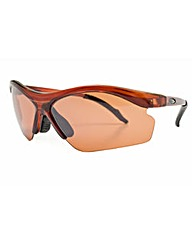 Brown Frame Smoke Lens Sunglasses