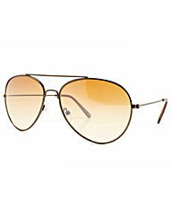 Aviator Brown Sunglasses