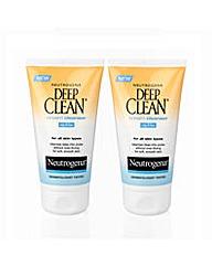 Neutrogena Pack of 2 Cream Cleansers