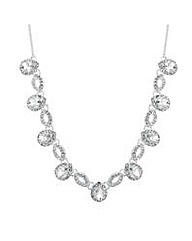 Alan Hannah peardrop crystal necklace