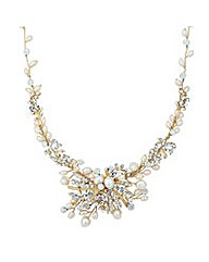 Alan Hannah pearl spray necklace