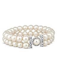Jon Richard pearl stretch bracelet