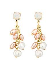 Alan Hannah pearl tassel drop earring