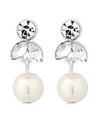 Alan Hannah pearl crystal drop earring