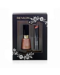 Revlon Lip & Nail 2 Piece Gift Set