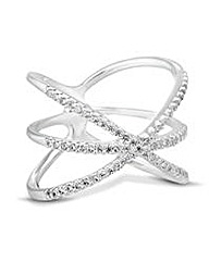 Simply Silver cage inspired ring