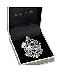 Jon Richard vintage style stone brooch