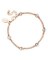 Jon Richard crystal embellished bracelet