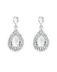 Mood crystal teardrop drop earring