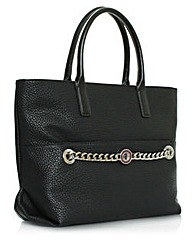 Versace Jeans Black Shopper Bag