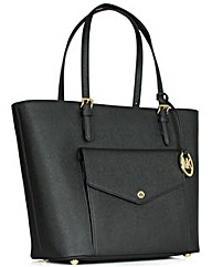 Michael Kors Jtst Lg Pkt Black Bag
