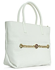 Versace Jeans White Shopper Bag