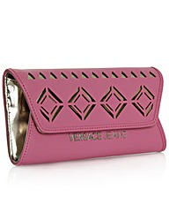Versace Jeans Pink Laser Cut Cross-Body