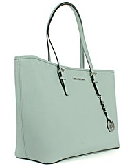 Michael Kors Celadon Leather Tote Bag