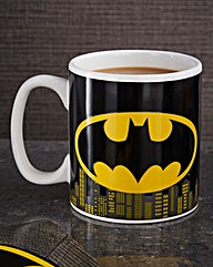 Batman Logo Heat Change Mug