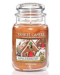 Yankee Candle Treasures Gingerbread Jar