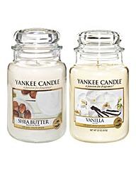 Yankee Candle Vanilla & Shea Butter Set