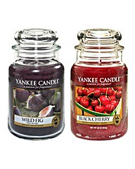 Yankee Candle Wild Fig and Black Cherry