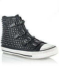 Ash Vicious Studded High Top Trainer