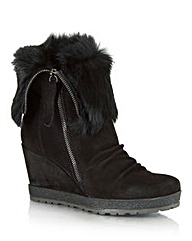 Daniel Grateful Fur Cuff Boot