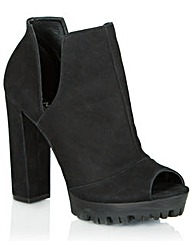 Daniel Wealth Peep Toe Boot