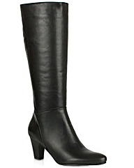 Lamica Black Leather Boots