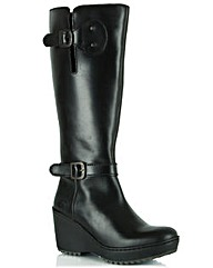Fly London Leather Knee Boot