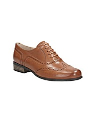 Clarks Womens Hamble Oak Wide Fit