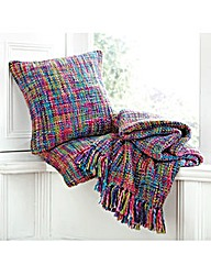 Multicoloured Throw