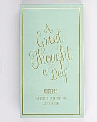 Inspirational Notepad