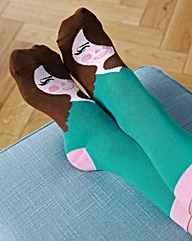 Kate Middle Toe Socks