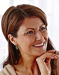 Marcasite Diamond Shape Clip Earrings