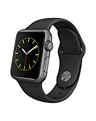 Apple Sport 38mm Space Grey & Black