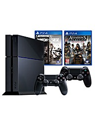 PS4 + Rainbow 6: Siege + Assassins Creed