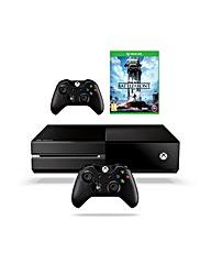 Xbox one + Star Wars Battlefront 3