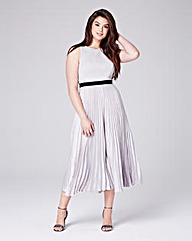 COAST JENNA PLEAT LEG JUMPSUIT
