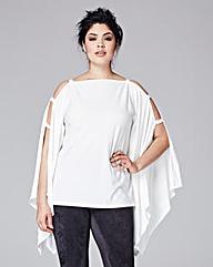Grazia Open Sleeve Kimono Top