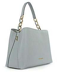 Michael Kors Blue  Leather Shoulder Bag
