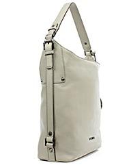 Michael Kors Belted Grey Leather Bag