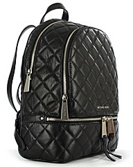Michael Kors Quilted Leather Backpack